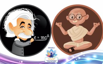 ¿Te gustaría que tu hijo fuera como Einstein o como Gandhi?