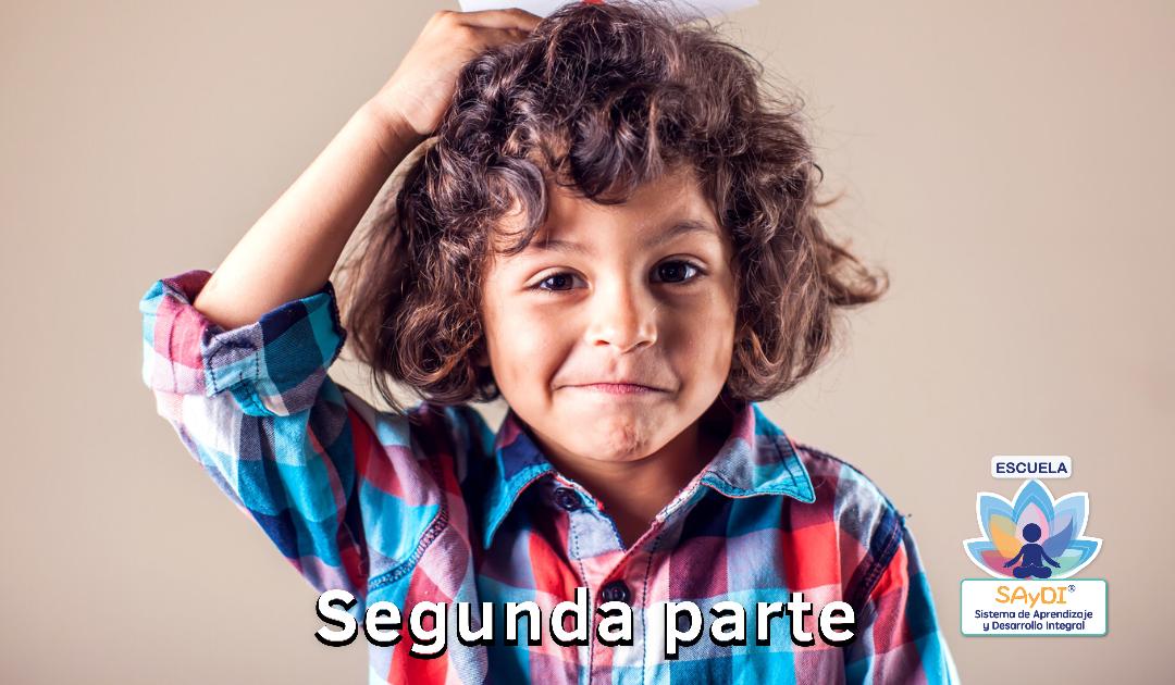 ¿Cómo aprende el cerebro de tus hijos? Segunda parte
